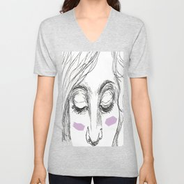 The Age of Recovery Warpaint Girl Unisex V-Neck