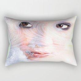 Snow Fairie Rectangular Pillow