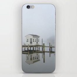 Eastern Branch Boat House iPhone Skin