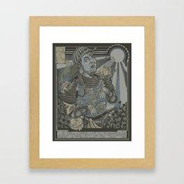 Organic Mist Framed Art Print