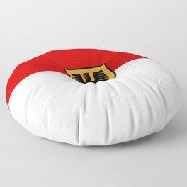 Flag of Dortmund Floor Pillow