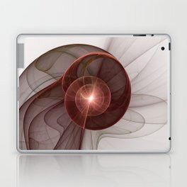 Abstract Digital Art, Fantasy Figure Laptop & iPad Skin