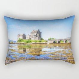 Eilean Donan in Summer Rectangular Pillow
