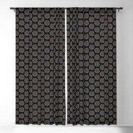 daisy chain manndala Blackout Curtain