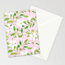 Jasmine Delight Pink Stationery Cards