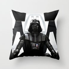 Dark Vador Throw Pillow