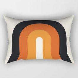 Rainbow Sunset Rectangular Pillow