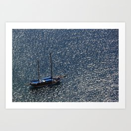 Santorini, Greece 11 Art Print