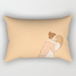 glad you're back Rectangular Pillow