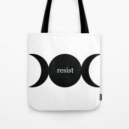 Triple Moon Resist Tote Bag