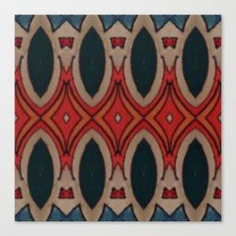 Marais Geometric hand drawn print Canvas Print