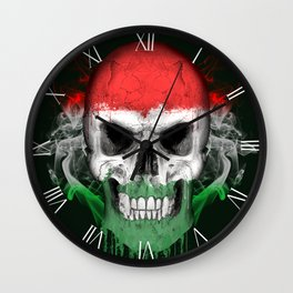 To The Core Collection: Hungary Wall Clock