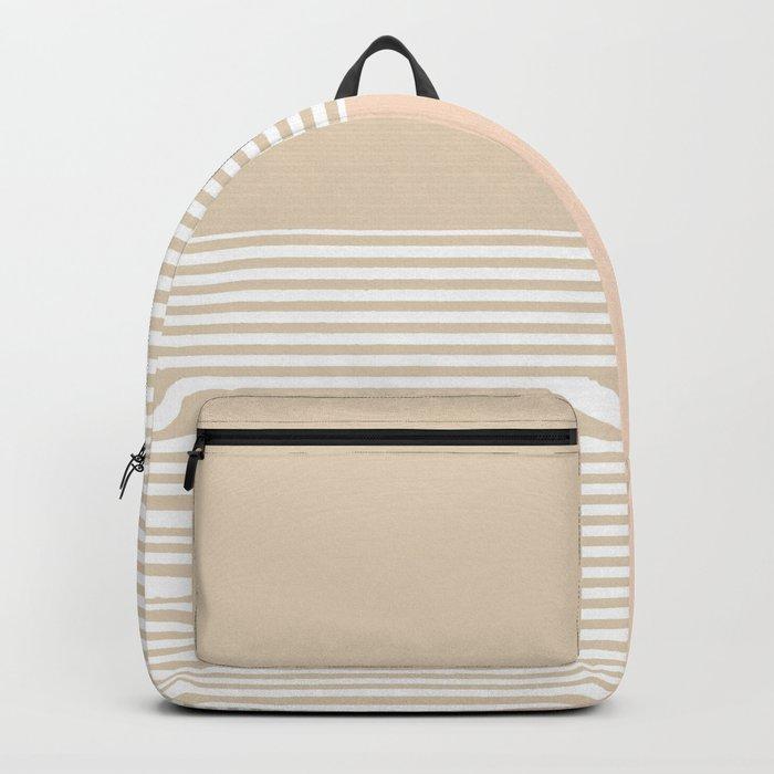 Dash in Tan Backpack