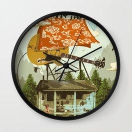 CABIN DOG Wall Clock