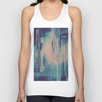 glitch Tank Tops featuring slow glitch by La Señora