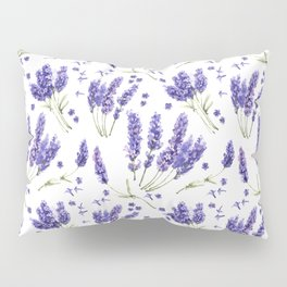 Lavender Purple Dream Watercolor Pattern Pillow Sham