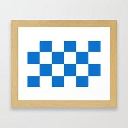Flag of Dalfsen Framed Art Print