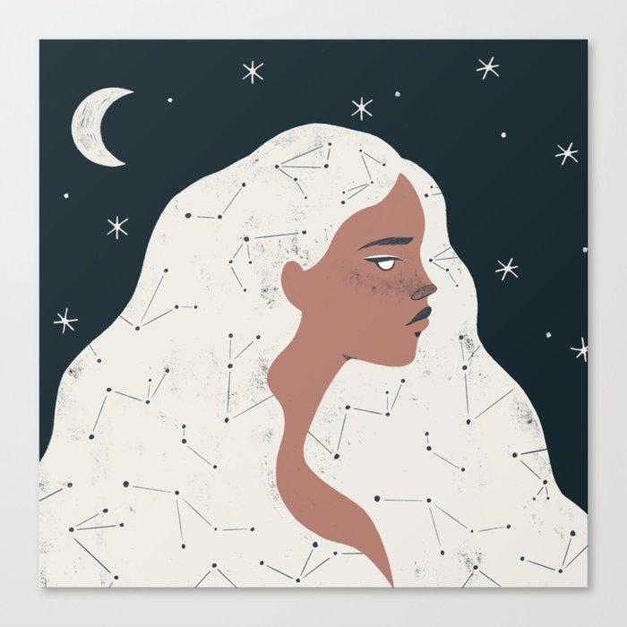 keeper of stars Canvas Print