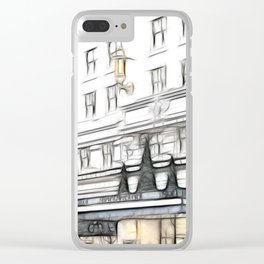 Strand Palace hotel Clear iPhone Case