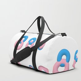 Minimal donuts! Duffle Bag