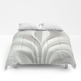 White sculpture Comforters