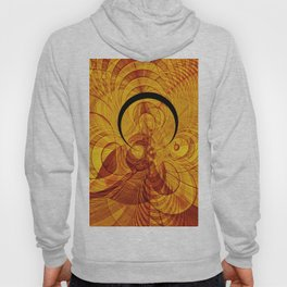 Loop and stripe fractal world Hoody