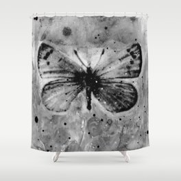 Butterfly Prayers No. 1L by Kathy Morton Stanion Shower Curtain