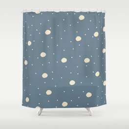 Delicate Bubbles Shower Curtain