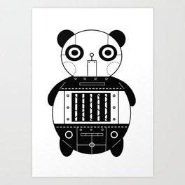 ROBO BEAR Art Print