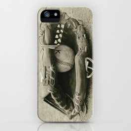 First Love 3 in Sepia iPhone Case