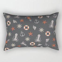 Nautical Rectangular Pillow