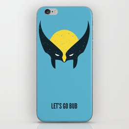 Wolverine - Let's Go Bub iPhone Skin