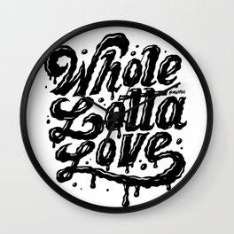 Lotta Love Wall Clock