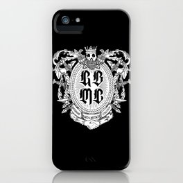 GBMC - The Gentlemans Beard and Mustache Coalition iPhone Case