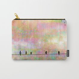 The Quickening, Abstract Sky and Birds Carry-All Pouch