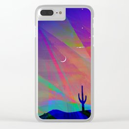 Arizona Evening Clear iPhone Case