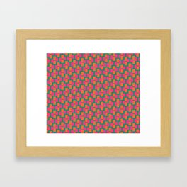 Geometrix / Spring Framed Art Print