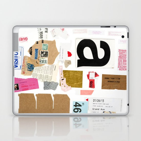 Paper Trail I  Laptop & iPad Skin