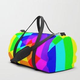 8 Color Octagon Target Duffle Bag