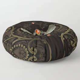 Wonderful decorative scarab Floor Pillow