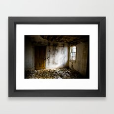 Upstairs Room Framed Art Print