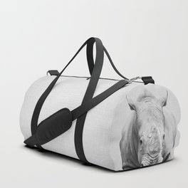 Rhino 2 - Black & White Duffle Bag