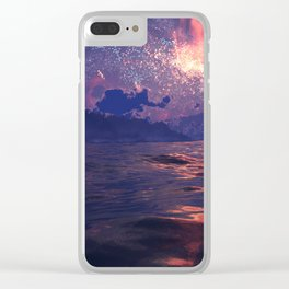 Distant Shores Clear iPhone Case