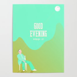 SHINee - Good Evening Poster