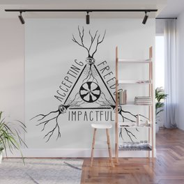 ACCEPTING - FREEDOM - IMPACTFUL Wall Mural