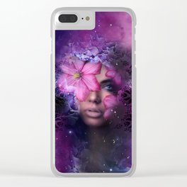 Ode to Ultra Violet Clear iPhone Case