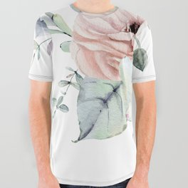Pretty Succulents by Nature Magick All Over Graphic Tee