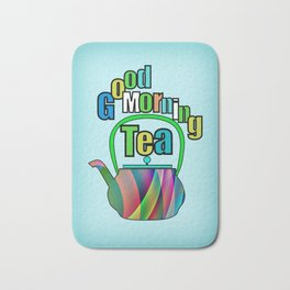 Good Morning Tea Bath Mat