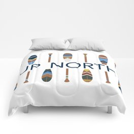 Up North with Painted Paddles Comforters