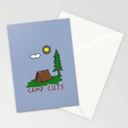 Camp C.U.T.S. Stationery Cards